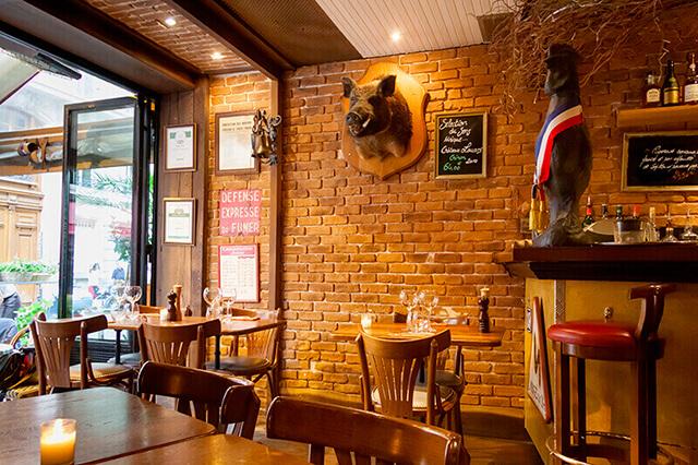 Restaurant Sens O Paris